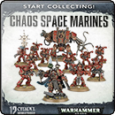 Warhammer 40000. Start Collecting! Chaos Space Marines