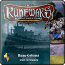 Runewars Miniatures Game: Rune Golems
