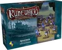 Runewars Miniatures Game: Spearmen Unit