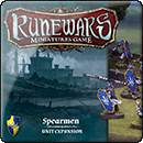 Runewars Miniatures Game: Spearmen Unit