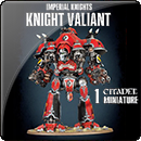 Warhammer 40000. Imperial Knights: Knight Valiant