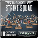 Warhammer 40000. Grey Knights Strike Squad