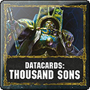 Warhammer 40000. Datacards: Thousand Sons