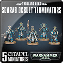 Warhammer 40000. Thousand Sons: Scarab Occult Terminators