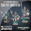 Warhammer 40000. Thousand Sons: Exalted Sorcerers