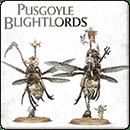Warhammer 40000. Nurgle Rotbringers: Pusgoyle Blightlords