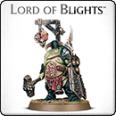 Warhammer 40000. Nurgle Rotbringers: Lord of Blights