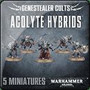 Warhammer 40000. Genestealer Cults: Acolyte Hybrids