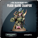 Warhammer 40000. Death Guard: Plague Marine Champion