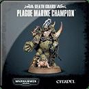Warhammer 40000. Death Guard: Plague Marine Champion