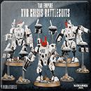 Warhammer 40000. Tau Empire: XV8 Crisis Battlesuits