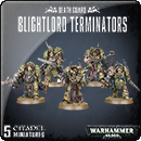 Warhammer 40000. Death Guard: Blightlord Terminators