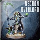 Warhammer 40000. Necron Overlord