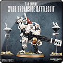 Warhammer 40000. Tau Empire: XV88 Broadside Battlesuit