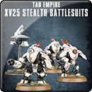 Warhammer 40000. Tau Empire: XV25 Stealth Battlesuits