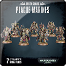 Warhammer 40000. Death Guard: Plague Marines