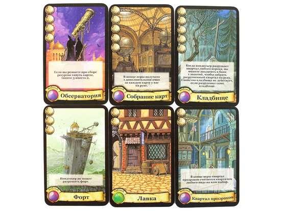 Настольная игра - Цитадели Citadels