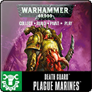 Warhammer 40000. Easy To Build: Death Guard Plague Marines
