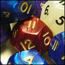 Кубики D12. Перламутр в ассортименте