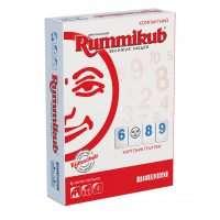 Руммикуб: Компактная/Дорожняя версия (картонные плитки)