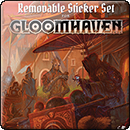 Gloomhaven. Removable Sticker Set