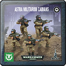 Warhammer 40000. Easy To Build: Astra Militarum Cadians