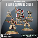 Warhammer 40000. Astra Militarum: Cadian Command Squad