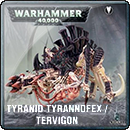 Warhammer 40000. Tyranid Tyrannofex / Tervigon