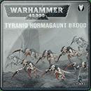 Warhammer 40000. Tyranid Hormagaunt Brood
