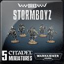 Warhammer 40000. Ork Stormboyz