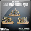 Warhammer 40000. Astra Militarum: Cadian Heavy Weapon Squad