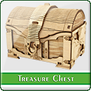 Коробка для карт Сундук с Сокровищами
