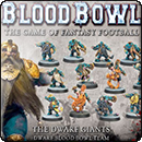Blood Bowl (2016 edition): The Dwarf Giants – Dwarf Blood Bowl Team