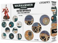 Warhammer 40000: Sector Imperialis 25mm & 40mm Round Bases