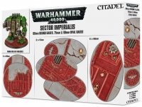 Warhammer 40000: Sector Imperialis 60mm Round, 75mm & 90mm Oval Bases