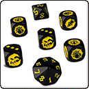 Blood Bowl (2016 edition): Goblin Team Dice Set