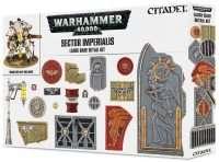 Warhammer 40000: Sector Imperialis Large Base Detail Kit