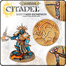 Warhammer Age of Sigmar: Shattered Dominion 40mm & 65mm Round Bases