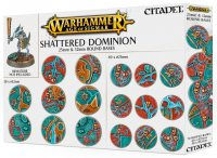 Warhammer Age of Sigmar: Shattered Dominion 25mm & 32mm Round Bases
