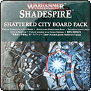 Warhammer Underworlds: Shadespire Shattered City Board Pack