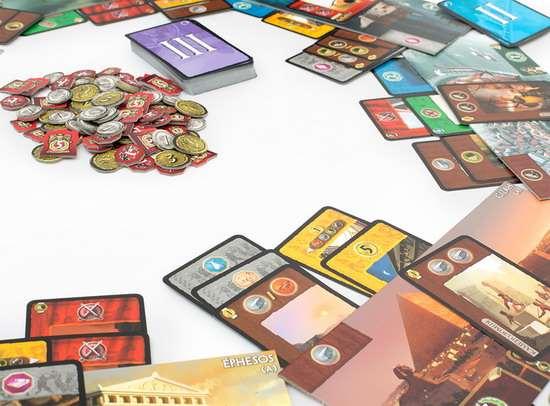 Настольная игра - 7 Чудес (7 Wonders)
