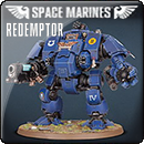 Warhammer 40000: Space Marines – Primaris Redemptor Dreadnought
