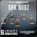 Warhammer 40000. Ork Nobz