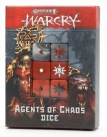 Warhammer Age of Sigmar: Warcry: Agents of Chaos Dice Set