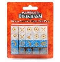 Warhammer Underworlds: Grand Alliance Order Dice Pack