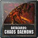 Warhammer 40000. Datacards: Chaos Daemons