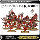 Warhammer Age of Sigmar: Start Collecting! Daemons of Khorne