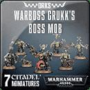 Warhammer 40000. Orks: Warboss Grukk's Boss Mob