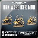 Warhammer 40000. Ork Warbiker Mob
