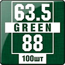 Протекторы для карт 63.5 х 88 мм (100 шт.)